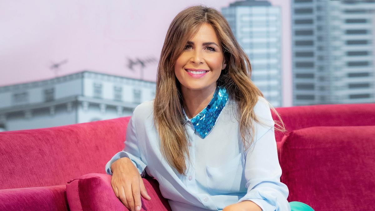 Nuria Roca, presentadora de 'La Roca' (La Sexta) y colaboradora de 'El hormiguero' (A-3 TV).