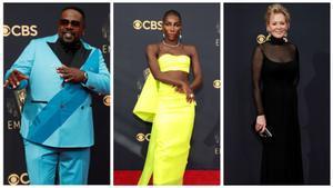 Cedric the Entertainer, Michaela Coel y Jean Smart, antes de la gala de los Emmy