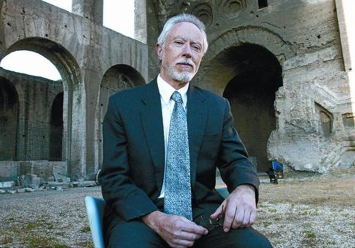 El premi Nobel sud-africà J. M. Coetzee, al Festival de Literatura de Roma, el juny del 2004.