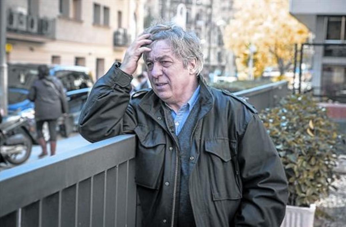 El periodista francés Sorj Chalandon,el año pasadoen Barcelona.