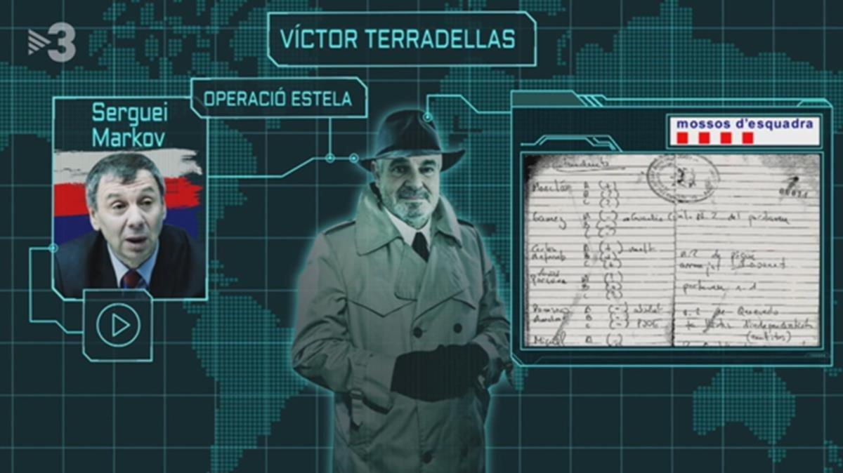 El caso Víctor Terradellas en FAQS (TV-3).