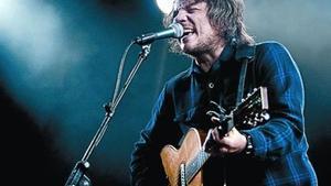 Jeff Tweedy, de Wilco, en el escenario grande del Primavera, el viernes.