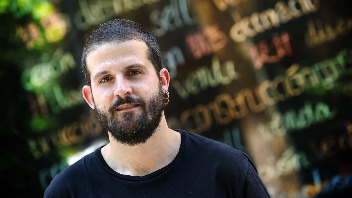 El periodista Andreu Merino, autor de 'La ciutat sense veïns'.