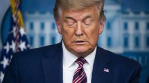 El presidente saliente de Estados Unidos, Donald Trump