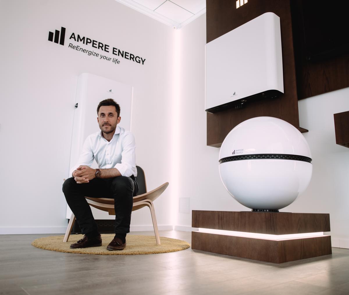 Ignacio Osorio, CEO de Ampere Energy