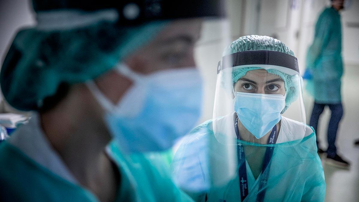 La Covid dona treva als hospitals Catalunya