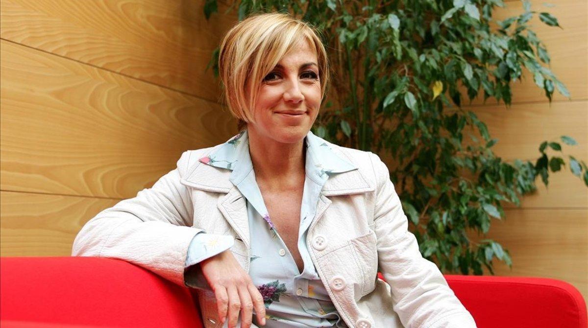 Ana Torroja, en febrero del 2005.