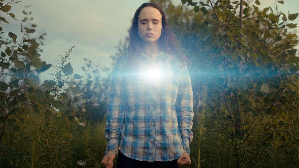 Ellen Page, en 'The Umbrella Academy'.