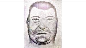 Retrato robot elaborado porla Guardia Civildel hombre hallado en el río Ebro el 8 de febrero.