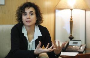 La ministra de Sanidad,Dolors Monserrat.