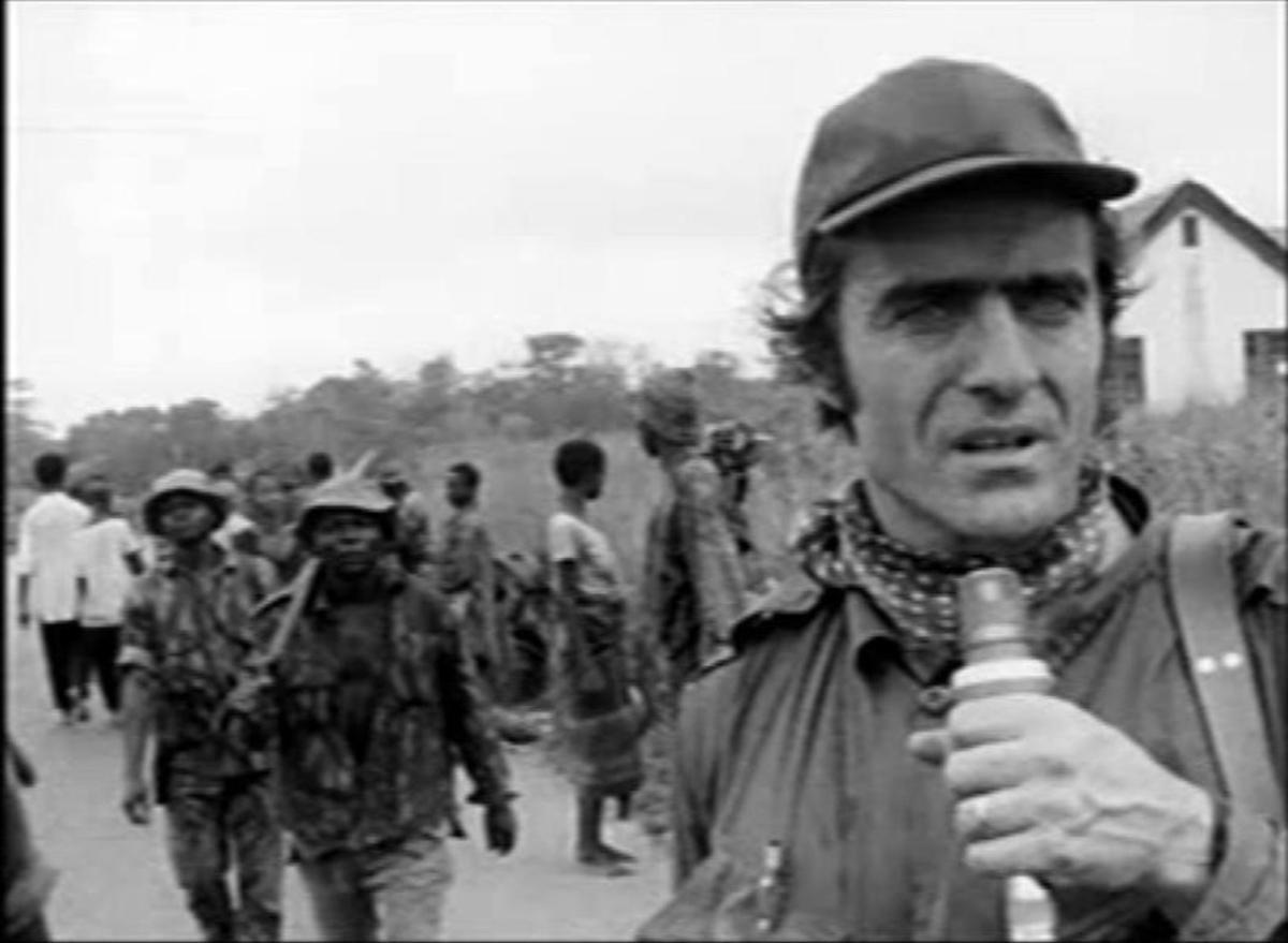 Miguel de la Quadra-Salcedo, en sus años de reportero deTVE.