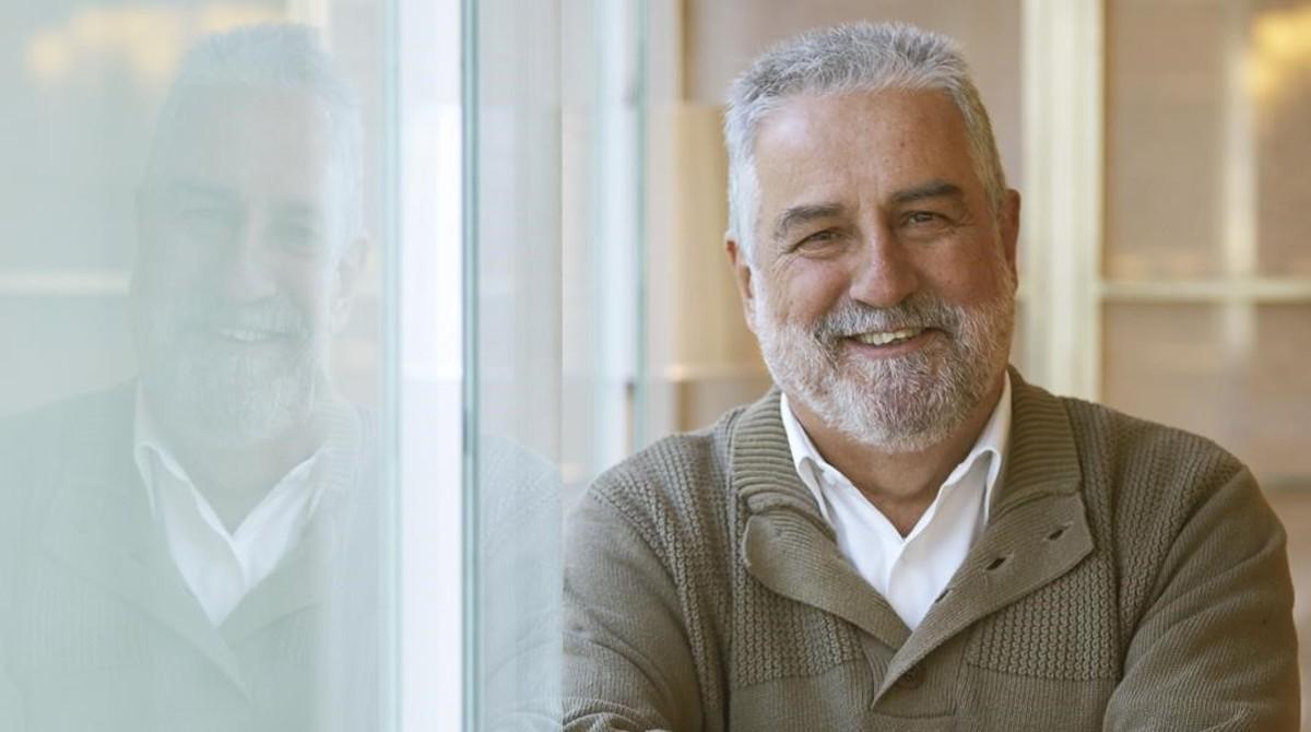 El escritor y periodista Rafel Nadal.