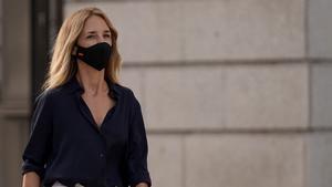 Rueda de prensa de Cayetana Álvarez de Toledo tras su destitución como portavoz del PP en el Congreso