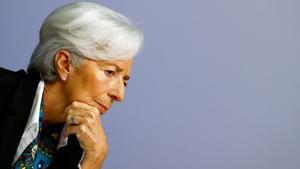 Lagarde adverteix del risc d'una crisi com la del 2008 pel coronavirus