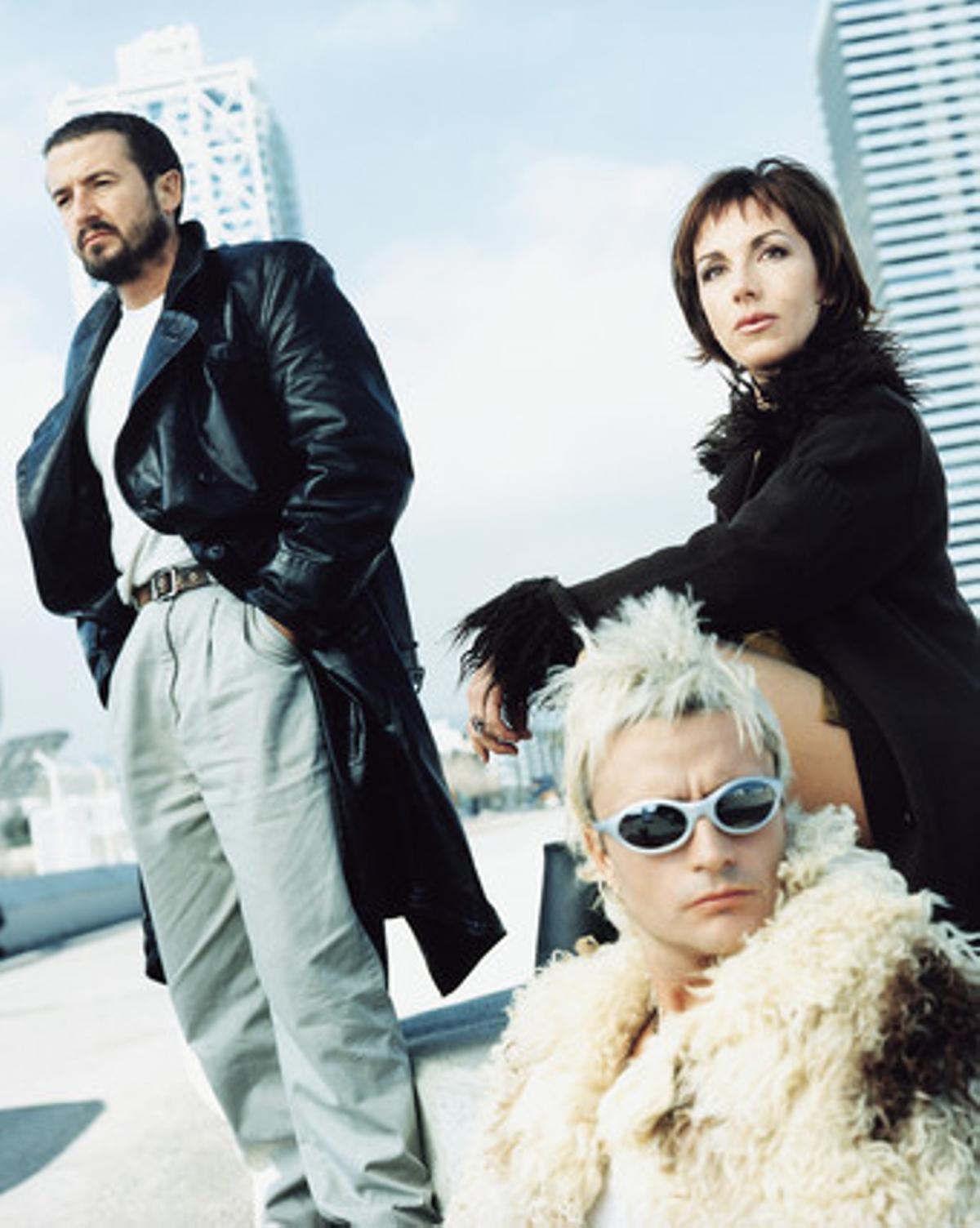 Imagen promocional del grupo en 1998.