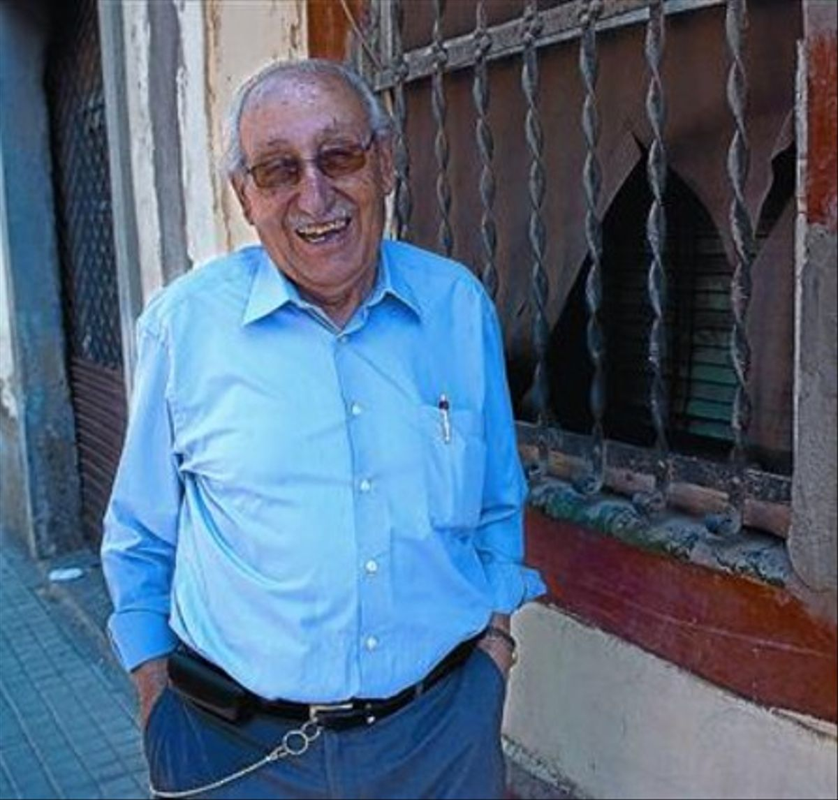 Francesc Boix: «El mayor de los vecinos del Plus Ultra, sí señor. Ese soy yo»