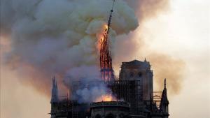Notre Dame solo recibe el 9% de los fondos prometidos para la reconstrucción