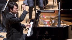 Concierto del pianista chino Lang Lang.