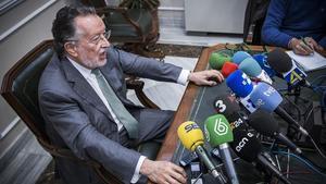 El vicealcalde de Valencia, Alfonso Grau, en una rueda de prensa.