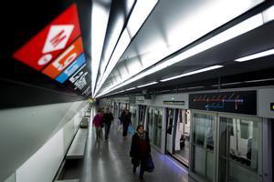 Arriben les obres a la L9 del metro a Santa Coloma per reforçar l'estructura del túnel