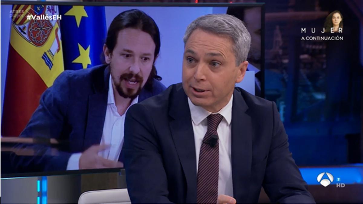 Vicente Vallés en 'El hormiguero' (A-3 TV).
