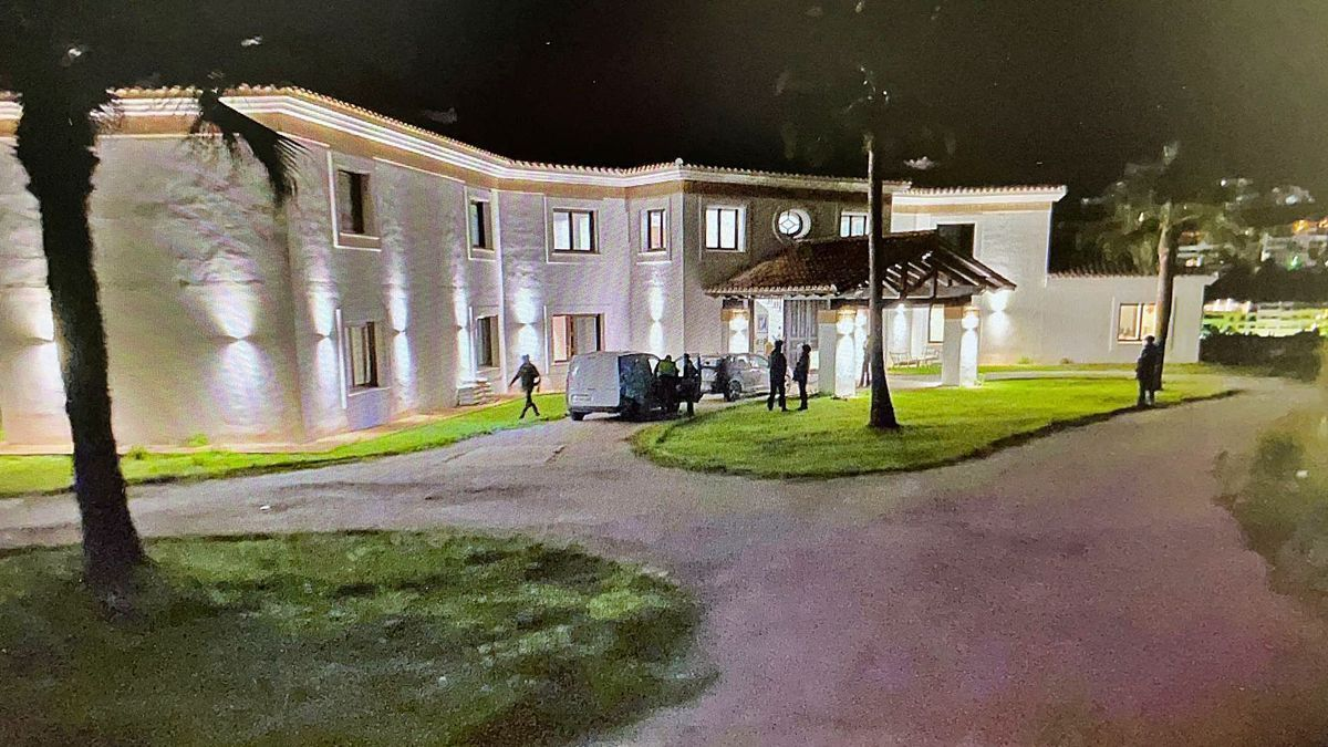Una de las mansiones que forman parte del patrimonio investigado.