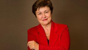 Kristalina Georgieva,directora gerente del FMI.