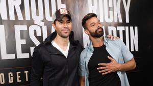 Enrique Iglesias y Ricky Martin anuncian una gira juntos.