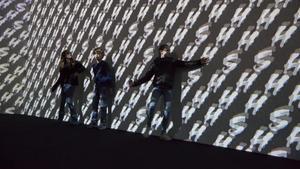 Un aspecto de la instalación 'Surround sounds', de Christian Marclay.
