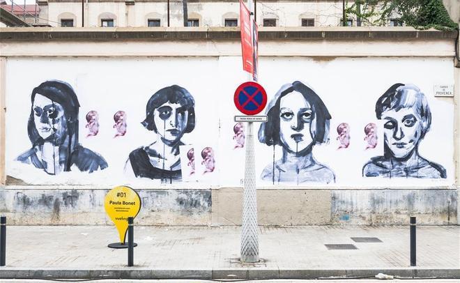 Barcelona malogra una obra de Paula Bonet