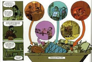 Página de 'La casa', nuevo cómic de Paco Roca.