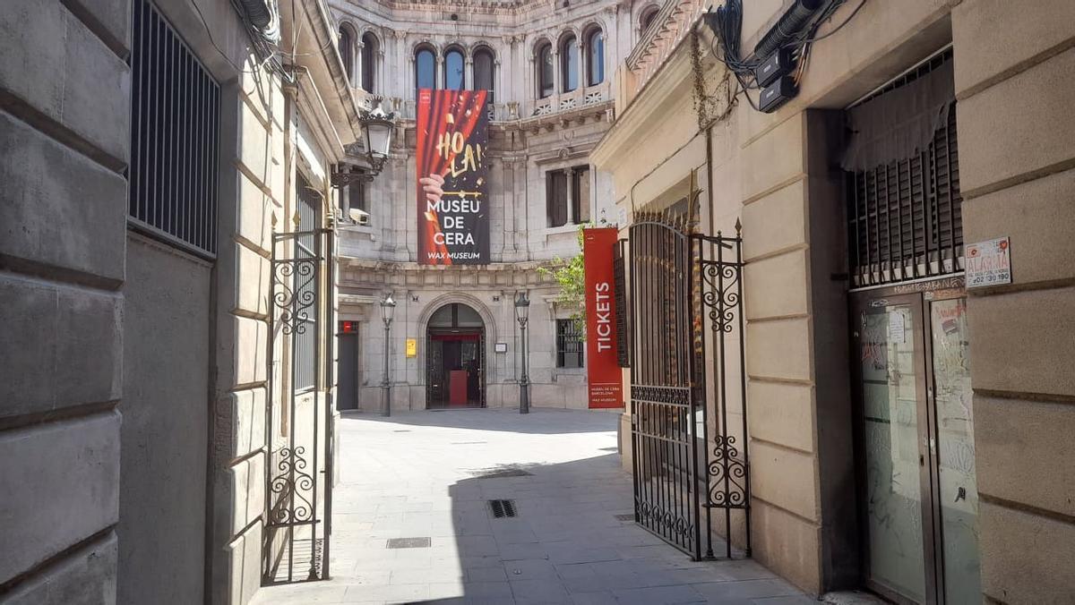 Aspecto de la fachada del nuevo Museu de la Cera.