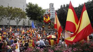 La plataforma España somos todos, ha convocado una marcha constitucionalista.