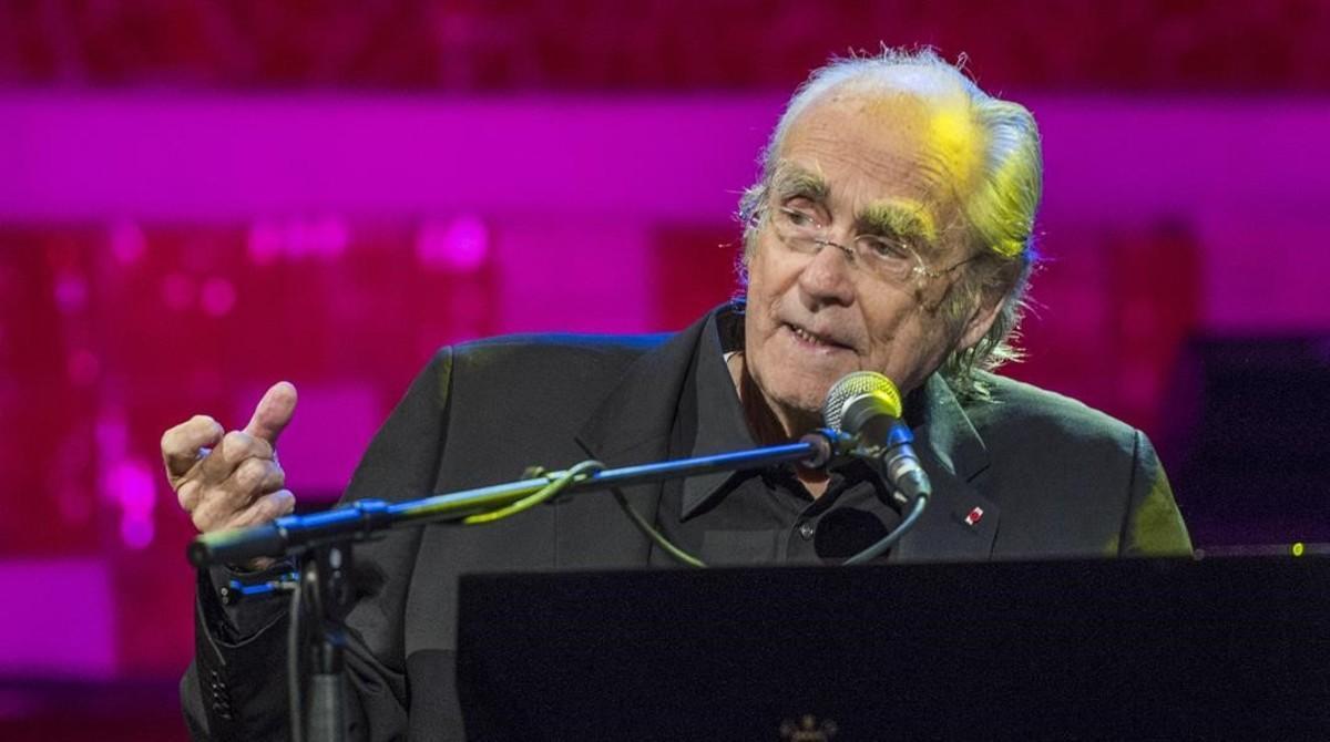 Michel Legrand en el Palau de la Musica, el viernes.