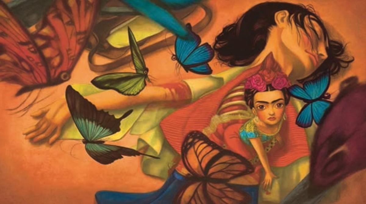 Ilustración de 'Frida', el nuevo libro ilustrado de Benjamin Lacombe y Sébastien Perez.