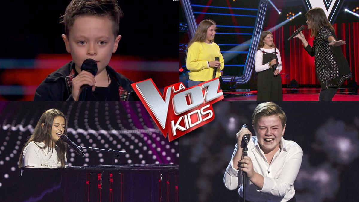 Algunas de las actuaciones más destacadas de la primera gala de 'La voz kids 2021'