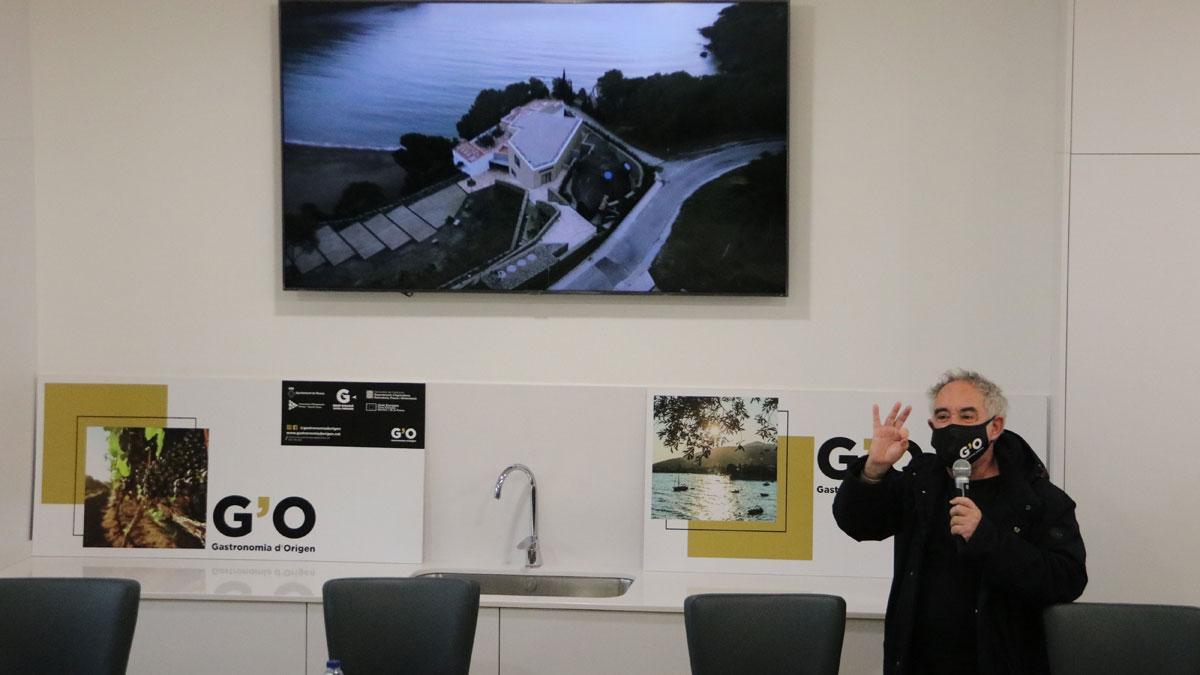 Ferran Adrià explica que El Bulli1846 abrirá en fase de pruebas en abril del 2022,