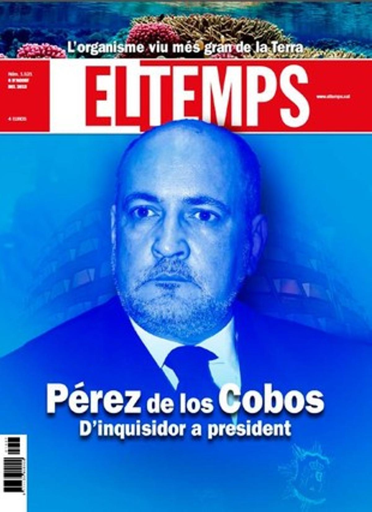 Un extenso reportaje del semanario 'El Temps' destapa los episodios más oscuros del presidente del TC.