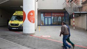 Las urgencias del Hospital de Palamós.