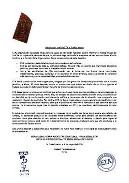 El comunicado final de ETA (ES)