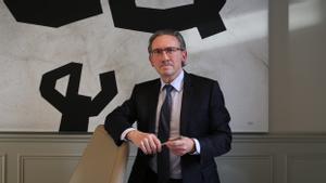 Jaume Giró posa en su despacho.
