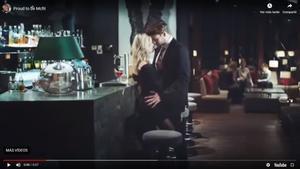 Captura de pantalla del anuncio sexista de McFit.