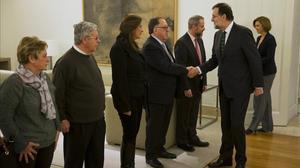 14 anys després de la tragèdia, Mariano Rajoy s'ha reunit amb les famílies dels morts al Iak 42.