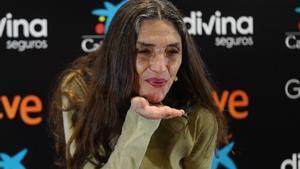 Ángela Molina: «El Goya d'Honor no té preu»
