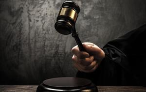 Un juez, durante una causa.