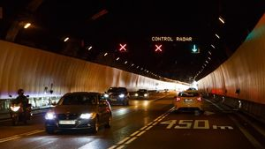 Túneles de Vallvidrera.