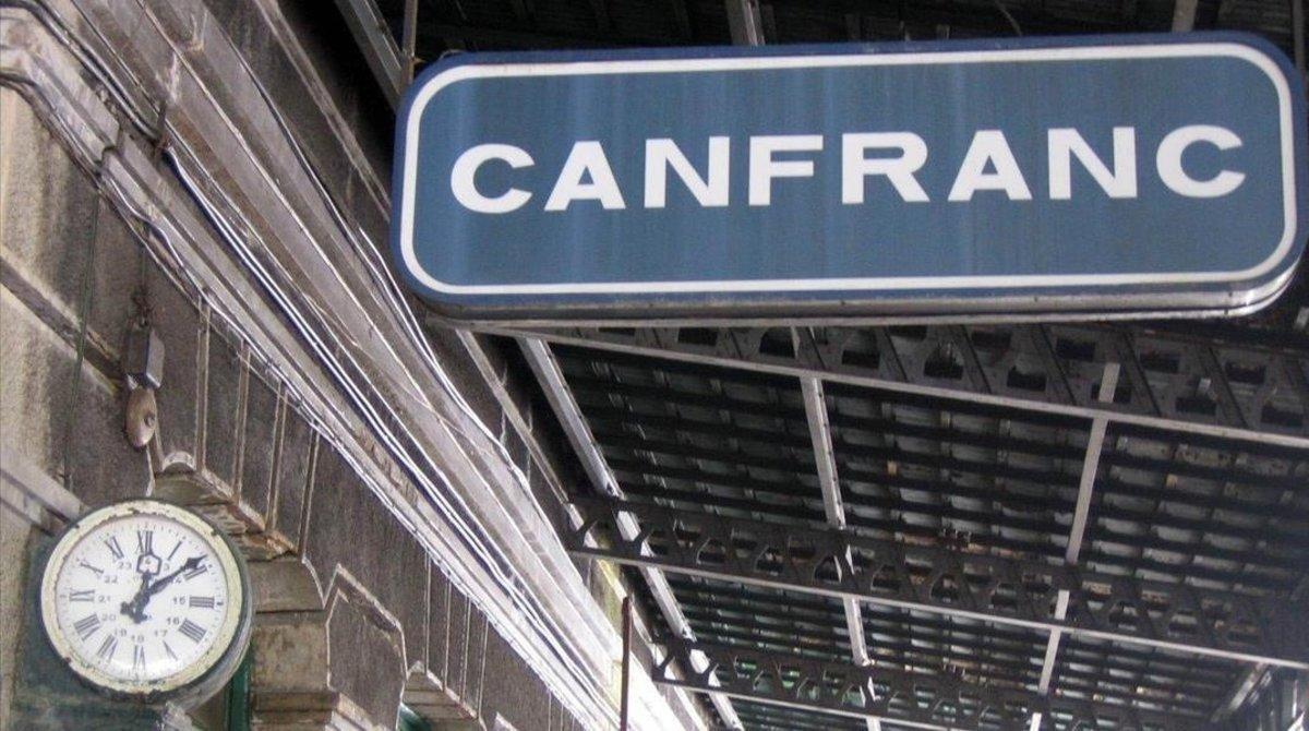 La estación de Canfranc.