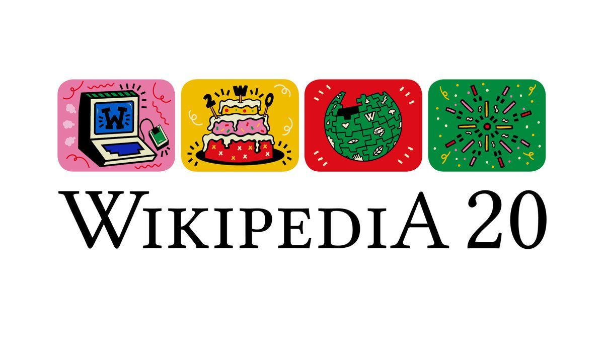 Wikipedia celebra su 20º aniversario