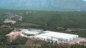 Torrelles de Llobregat. Planta de compostatge que genera adob orgànic.