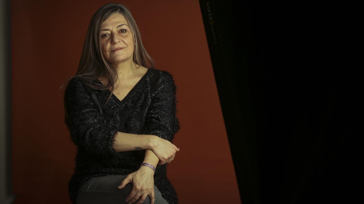 La escritora barcelonesa Olga Merino.